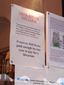 Primrose Hill Books (sign)