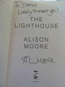 The Lighthouse by Alison Moore (inside)
