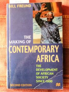 The Making of Contemporary Africa by Bill Freund (front)