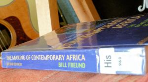 The Making of Contemporary Africa by Bill Freund (side)