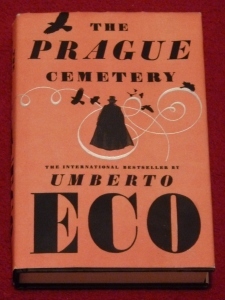 The Prague Cemetery by Umberto Eco