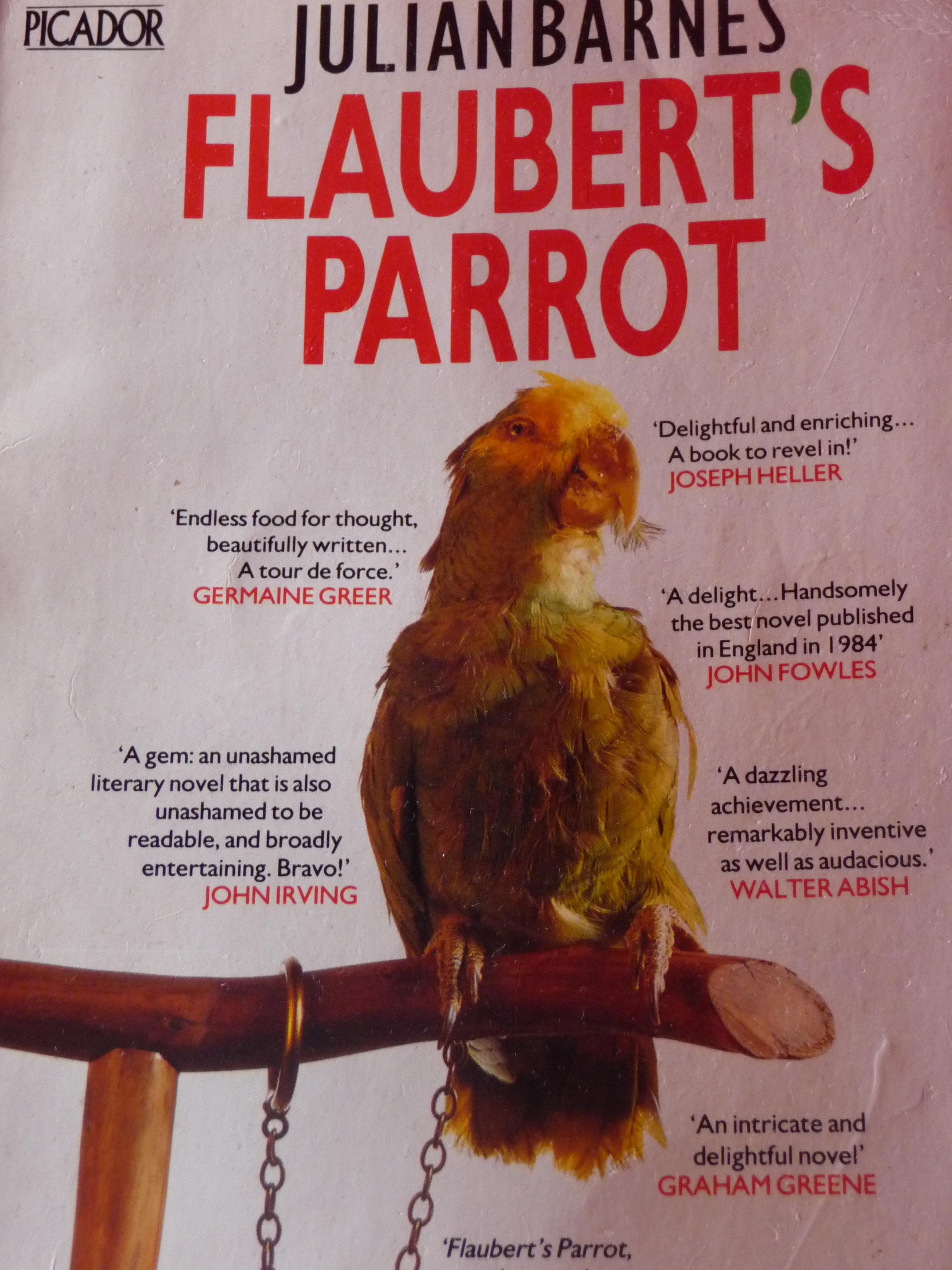 #18 Flaubert's Parrot.JPG